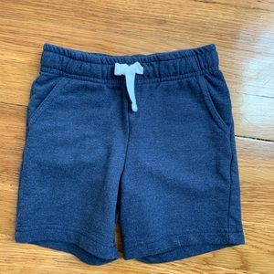 Blue Jersey Toddler Shorts